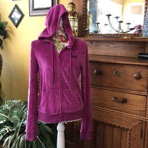 PINK Victoria's Secret Zip Up Hooded Jacket